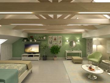 Bedroom under the roof - 1_22